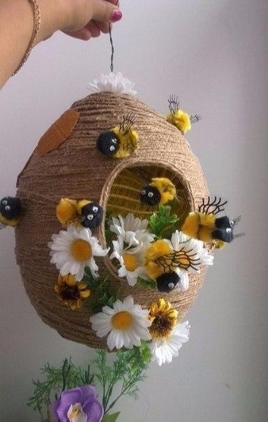 Декоративные пчелки своими руками