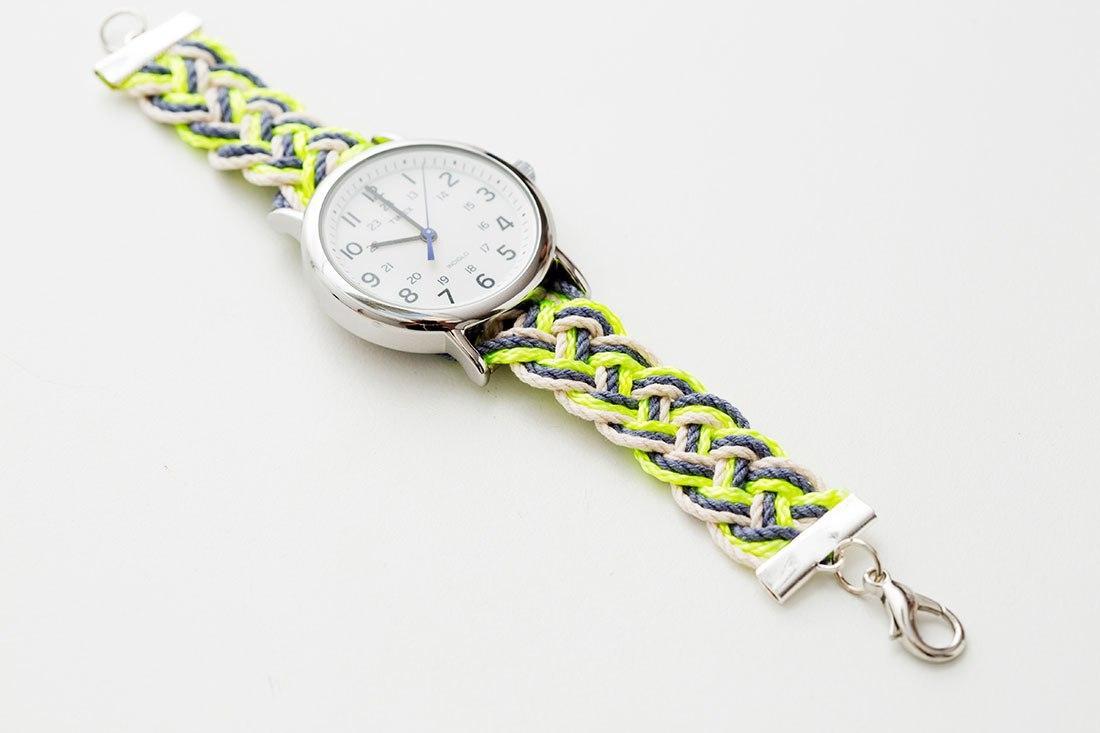 Как сделать ремешок для часов из ткани своими руками 71