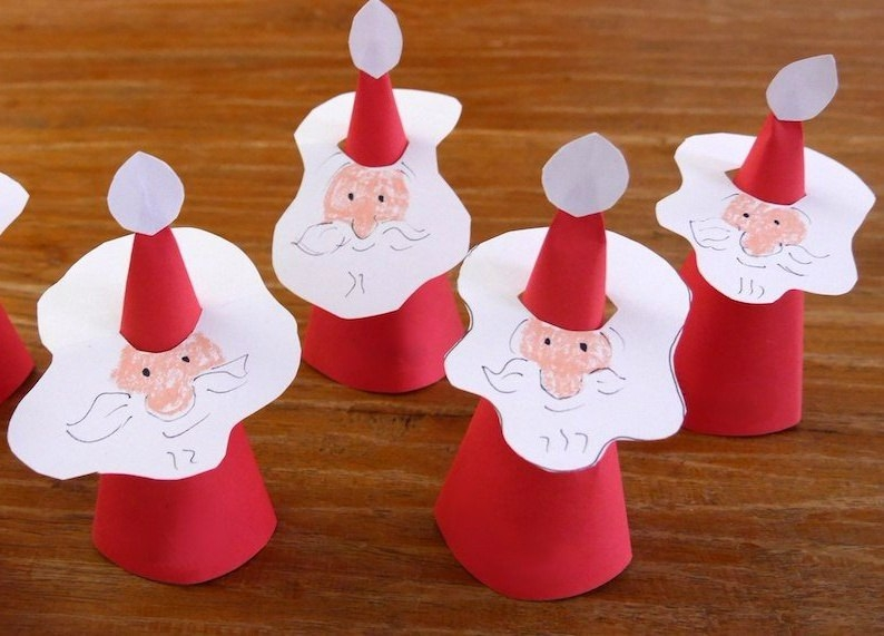 Дед мороз легко и просто своими руками 89