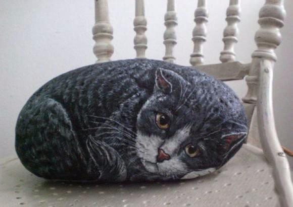 Камни, которые превратились в котов