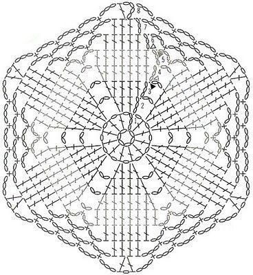 плед крючком 6