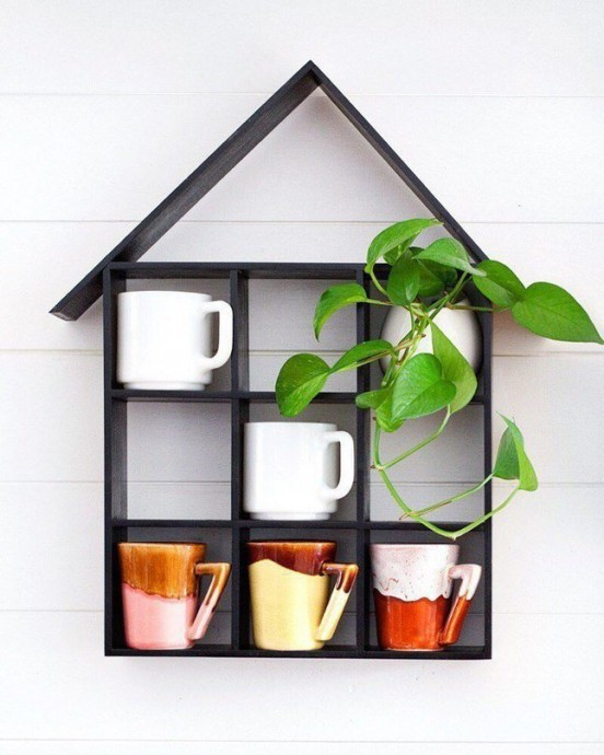 Домик для чашек