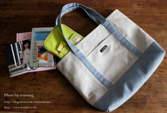 Экологичная тканевая сумочка: мастер-класс