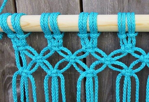 Плетеный гамак для дачи или балкона 8