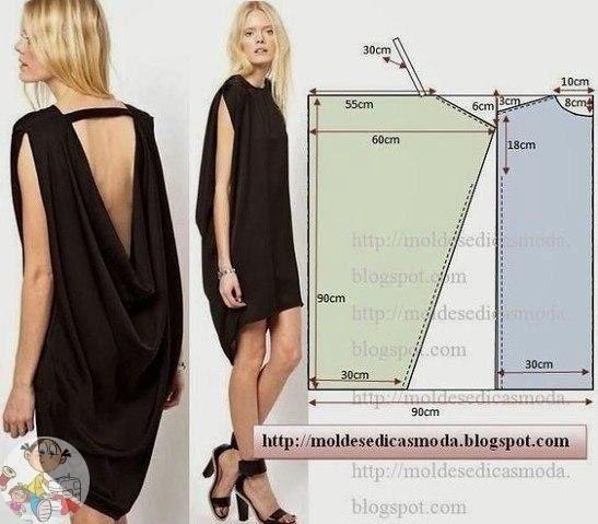 Очень простые модели для шитья на лето