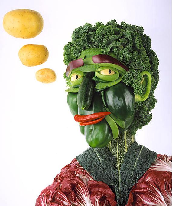 картинки из фруктов лицо лень создавать что-то