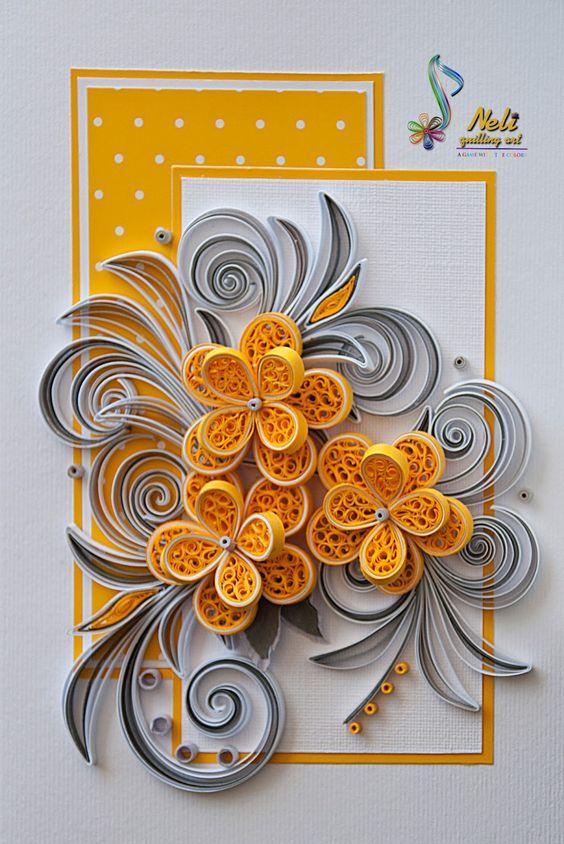 Рисунки для, схемы для открыток в технике квиллинг