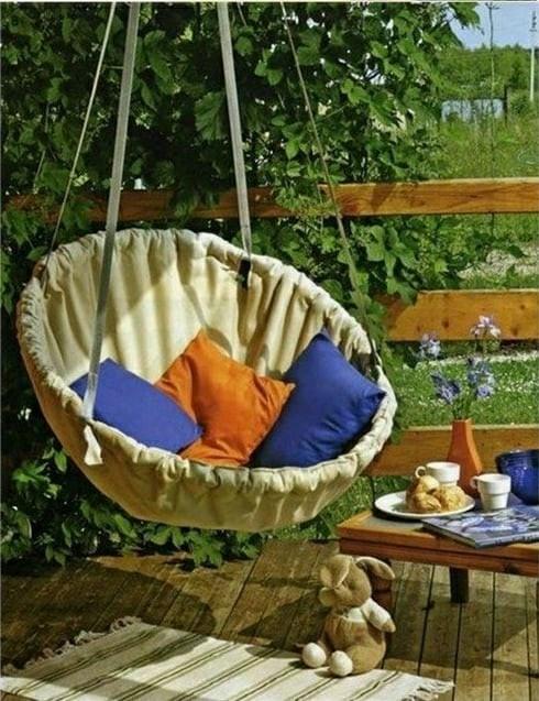 Кресло-гамак для дачи