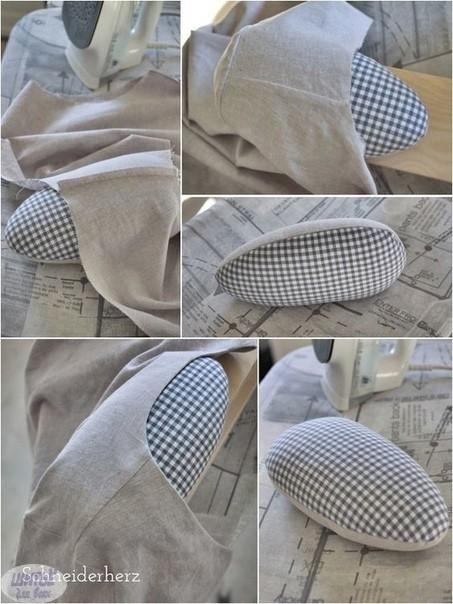 Как сделать подушку для глажки