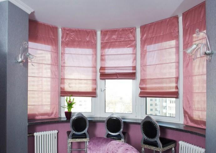 Шьем римские шторы