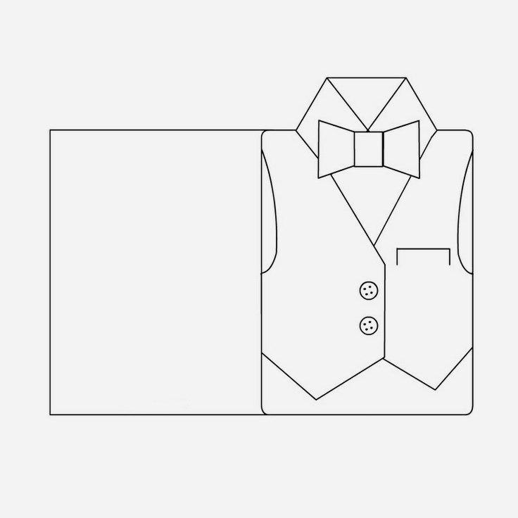 Открытки для мальчиков своими руками в виде рубашки