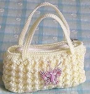Вязаная сумочка со схемой 4