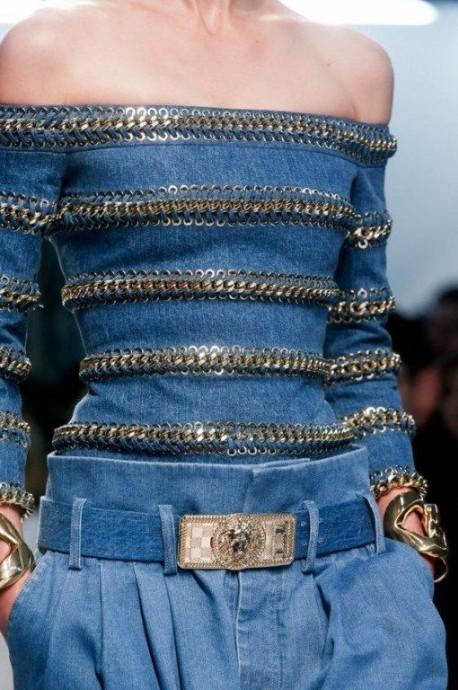 Смелые идеи при работе с джинсовой тканью