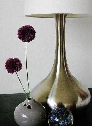 Цветы из помпонов: мастер-класс