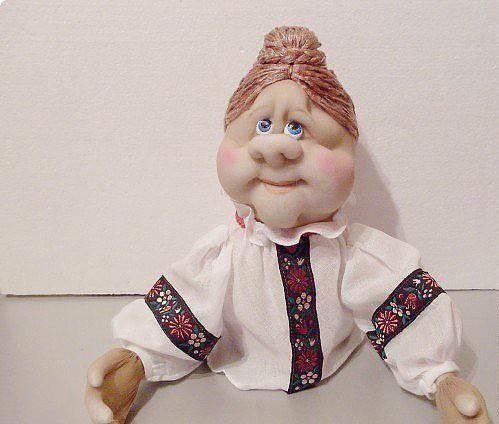 Кукла из капроновых чулок и носков