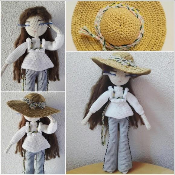 Интерьерная куколка Синьорита