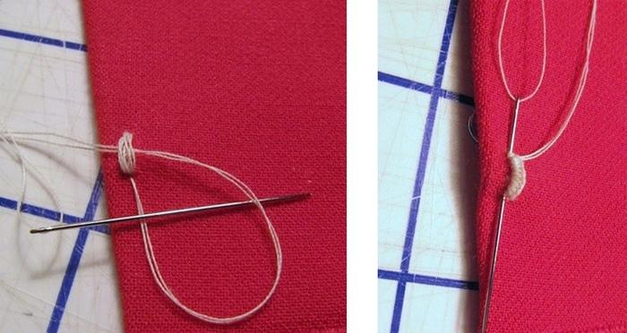 Как красиво пришивать крючки для одежды: мастер-класс 4