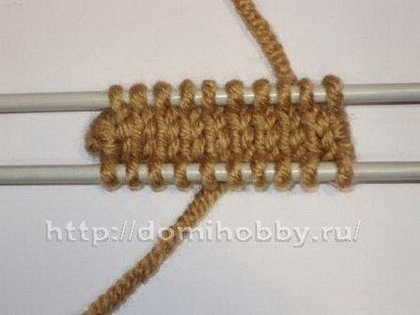 Вязание варежек от кончиков пальцев 3