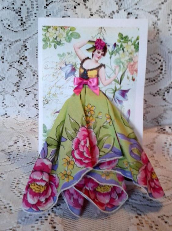 Как сделать открытку из платка, ульяновск
