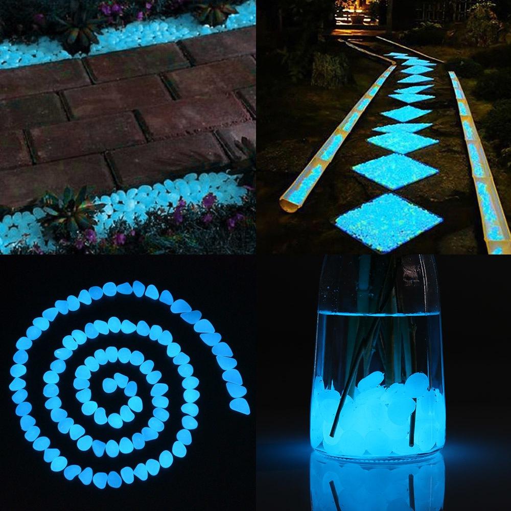 Использование флуоресцентных красок в декоре сада 6