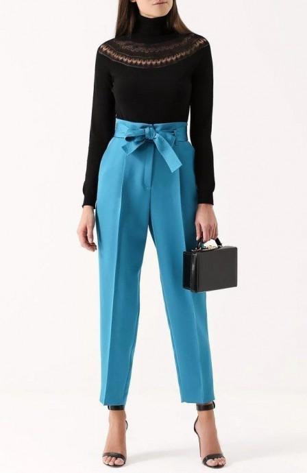 Моделирование брюк с завышенной талией