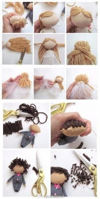 Шьем маленьких кукол в подарок ко дню свадьбы