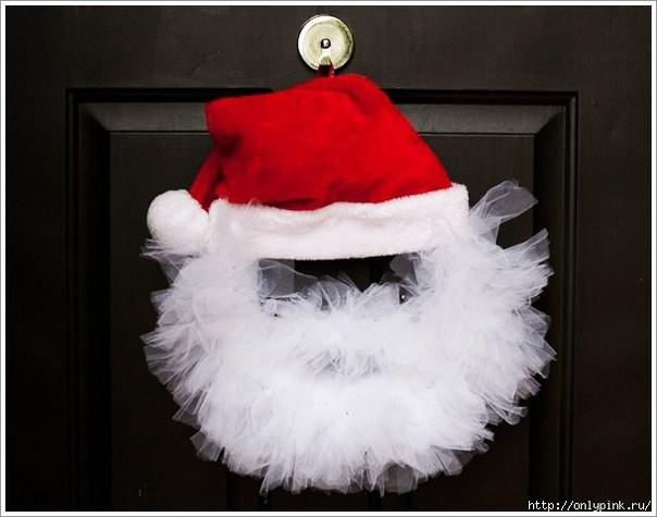 """Венок """"Дед Мороз"""""""