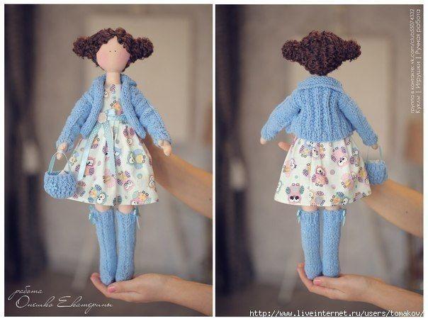 Шьем интерьерную куклу