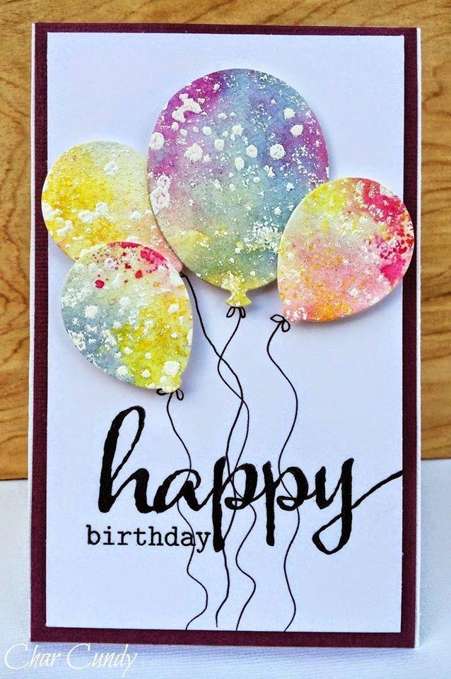 как оформить открытку на день рождения данном случае