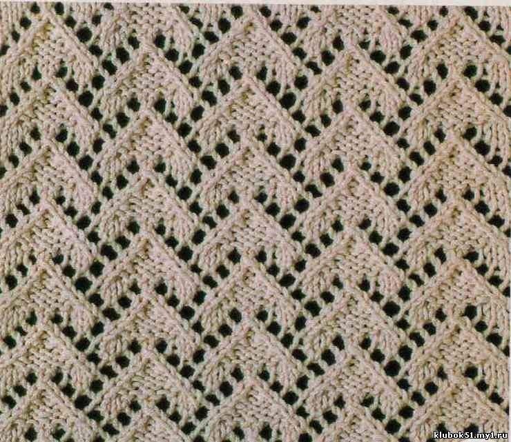 Треугольная накидка шаль на спицах фото схема более