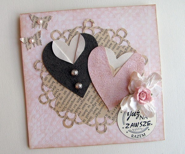 Оригинальные свадебные открытки своими руками